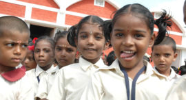 aim for seva school children