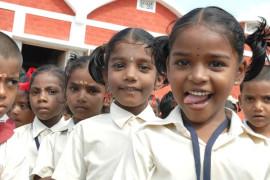 aim for seva school children