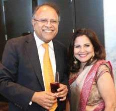 Dr. Terry & Mrs. Nimmi Papneja